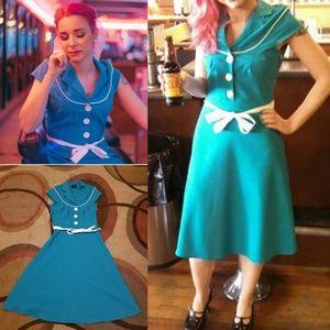 Folster rockabilly dress